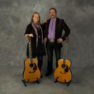 Countryartisterna Karin och Rickard Johansson