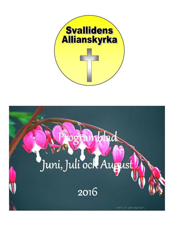 2016 juni juli augusti framsidan
