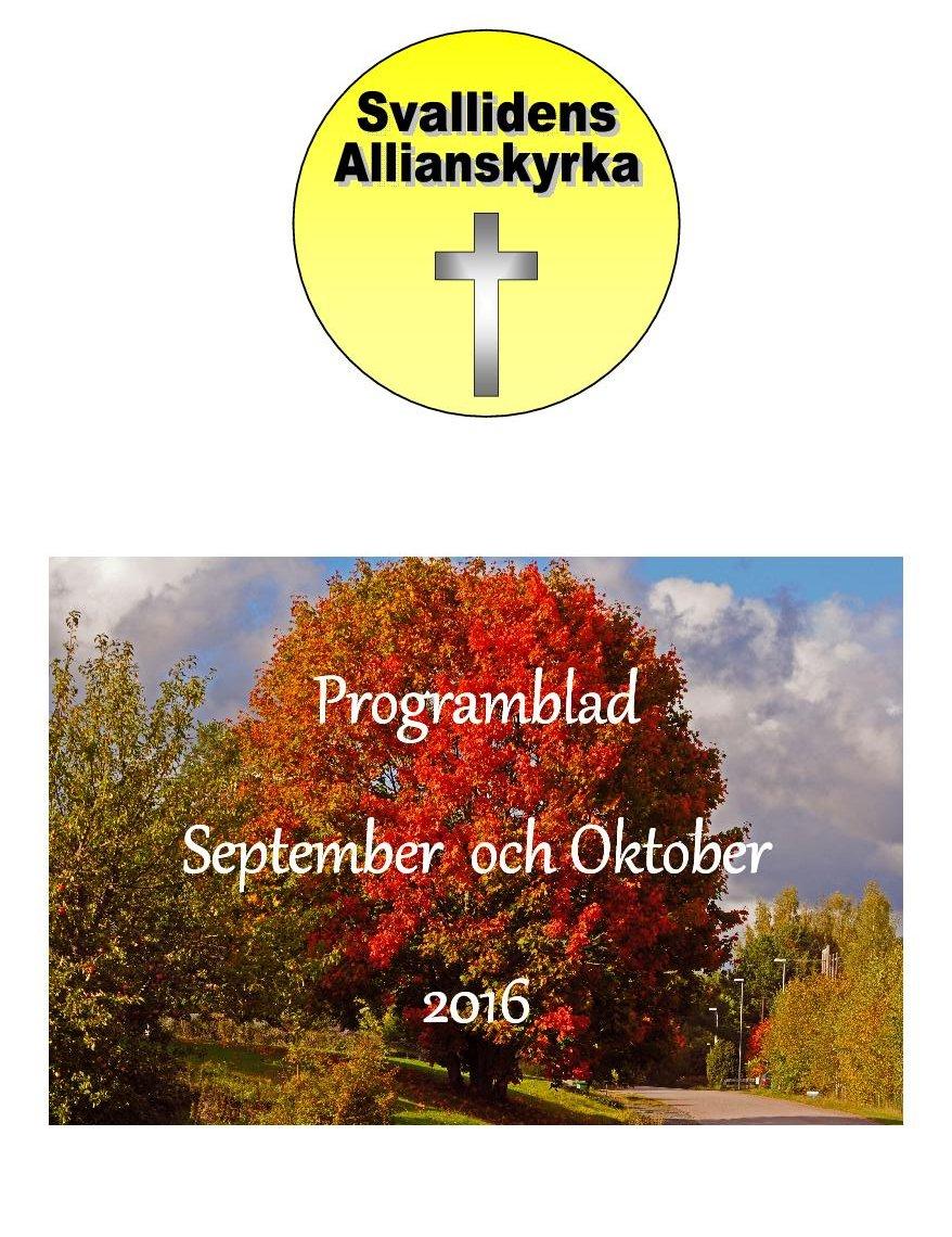 2016 september oktober Program framsida